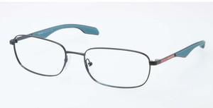 PRADA VPS 50E PDF-1O1 Ruthenium Pillow Men's 53 mm Eyeglasses