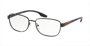 PRADA VPS 52L 1AB-1O1 Black Pillow Men's 54 mm Eyeglasses