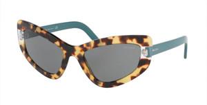PRADA SPR 11V 472-6Q0 Medium Havana Cat Eye Women's 55 mm Sunglasses