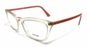 Prada VPR 10V 326-1O1 Pink Women's Authentic Eyeglasses Frame 54 mm