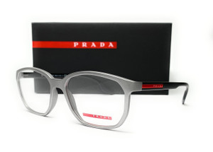 PRADA VPS 03M 573-1O1 Dark Grey Men's Eyeglasses 55 mm
