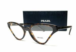 PRADA VPR 06XF 2AU-1O1 Havana Demo Lens Women's Eyeglasses 56mm