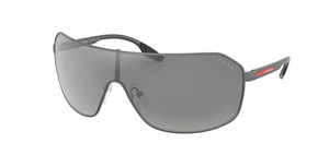 PRADA SPS 53V TWW-2B0 Matte Grey Pilot Men's 37 mm Sunglasses