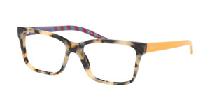 PRADA VPR 17V KAD-1O1 Havana Rectangle Women's 54 mm Eyeglasses