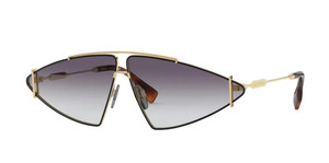 BURBERRY BE3111 10178G Gold Grey Gradient 68 mm Women's Sunglasses