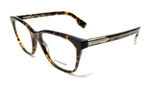 Burberry BE2284 3762 Havana Women's Authentic Square Eyeglasses Frame 51-18
