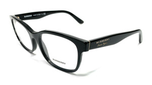 Burberry BE2263 3001 Black Women Authentic Square Eyeglasses Frame 53-18