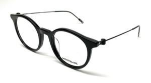 Mont Blanc MB0004O 001 Black Men's Authentic Eyeglasses Frame 48-21