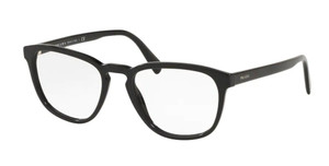 PRADA VPR 09V 1AB-1O1 Black Men's  Square 54 mm Eyeglasses