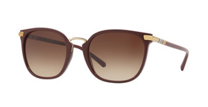 BURBERRY BE4262 340313 Burgundy Cat Eye Women's 53 mm Sunglasses