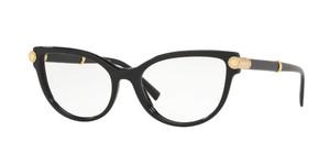VERSACE VE3270Q GB1 Black Cat Eye Women's 52 mm Eyeglasses