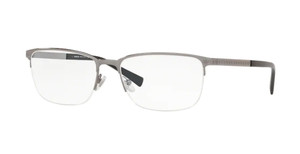 VERSACE VE1263 1001 Gunmetal Oval Men's 53 mm Eyeglasses