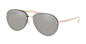 MICHAEL KORS MK2101 33326G Black Pilot Women's 60 mm Sunglasses