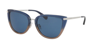 COACH HC8276 548980 Blue Glitter Cat Eye Women's 56 mm Sunglasses