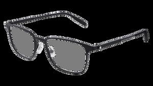 MONT BLANC MB0094O 001 Black Rectangle 54 mm Men's Eyeglasses
