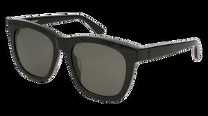 SAINT LAURENT SL M24/K 001 Black Square Unisex 55 mm Sunglasses
