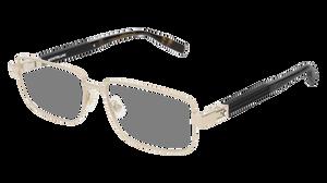 MONT BLANC MB0034O 006 Gold Men's Rectangle 58 mm Eyeglasses