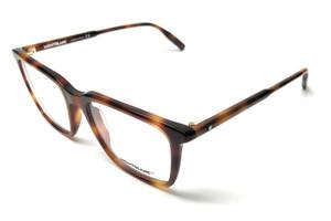 Mont Blanc MB0011O 006 Havana Men's Authentic Eyeglasses Frame 54-19