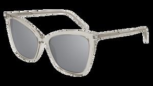SAINT LAURENT SL 384 003 Beige Cat Eye Women's 55 mm Sunglasses