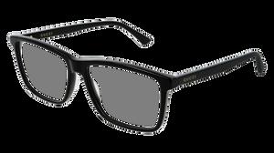 GUCCI GG0407O 005 Black Rectangle Men's 57 mm Eyeglasses