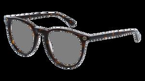 GUCCI GG0027O 002 Havana Round Women's 50 mm Eyeglasses
