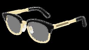 GUCCI GG0590OK 001 Black Round Square Men's 52 mm Eyeglasses
