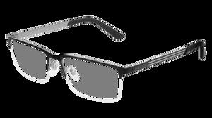 GUCCI GG0694O 001 Black Rectangle Men's 56 mm Eyeglasses