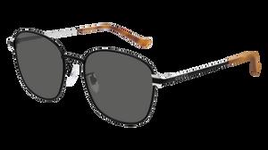 GUCCI GG0575SK 007 Black Square Men's 56 mm Sunglasses