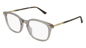 GUCCI GG0390O 003 Grey Rectangle Men's 50 mm Eyeglasses