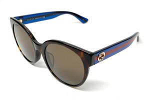 GUCCI GG0035SA 003 Havana Women's Authentic Sunglasses 56 mm