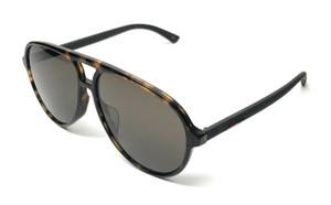 GUCCI GG0423SA 002 Havana Brown Men's Authentic Sunglasses 60 mm