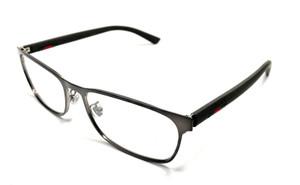 GUCCI GG0425O 002 Brown Demo Lens Men's Eyeglasses Frame 56 mm