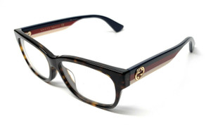 GUCCI GG0278OA 002 Havana Women's Authentic Eyeglasses Frame 55 mm