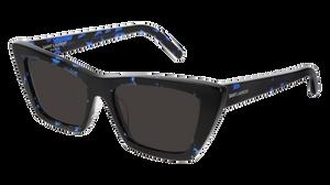 SAINT LAURENT SL 276 Mica 009 Havana Black Cat Eye Women's 53 mm Sunglasses