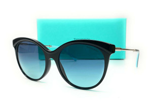 TIFFANY TF4149 80019S Black Blue Gradient Women's Sunglasses 55 mm