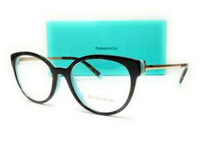 TIFFANY TF2191 8134 Havana Demo Lens Women's Eyeglasses 53 mm
