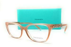 TIFFANY TF2199B 8299 Sand Gradient Demo Lens Women's Eyeglasses Frame 52 mm