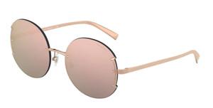 TIFFANY TF3071 61054Z Rubedo Gold Round Women's 56 mm Sunglasses