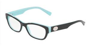 TIFFANY TF2172F 8291 Black Rectangle Women's 52 mm Eyeglasses