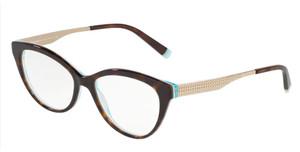 TIFFANY TF2180 8275 Havana Oval Round Women's 54 mm Eyeglasses