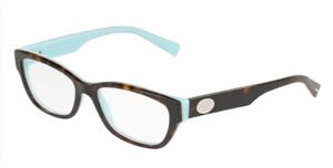 TIFFANY TF2172F 8292 Havana Rectangle Square Women's 52 mm Eyeglasses