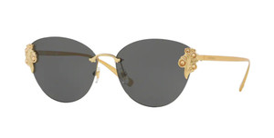 VERSACE VE2196B 142887 Gold Cat Eye Women's 58 mm Sunglasses