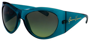 VERSACE VE4392 53350N Transparent Green Pilot Women's 63 mm Sunglasses