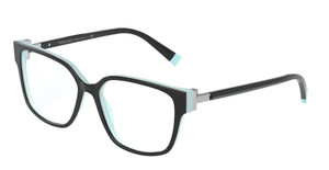 TIFFANY TF2197F 8055 Black Square Women's 54 mm Eyeglasses