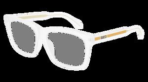 GUCCI GG0561O 005 Transparent Square Men's 54 mm Eyeglasses