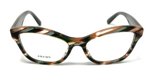 PRADA VPR 29R VAO-1O1 Havana Cat Eye Women's 54 mm Eyeglasses