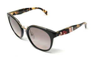 PRADA SPR 17T DHO-4K0 BROWN GRADIENT AUTHENTIC SUNGLASSES 53 mm