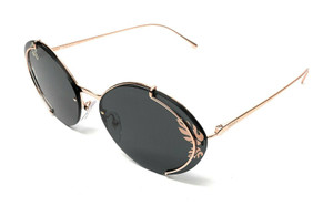 PRADA SPR 60U SVF-238 ROSE GOLD WOMEN'S AUTHENTIC SUNGLASSES 63 mm