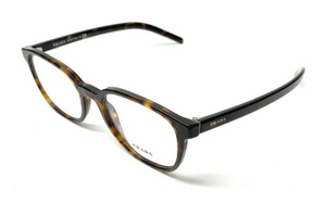 New Prada VPR 07X 2AU-1O1 Havana Men's Authentic Eyeglasses Frame 54-19