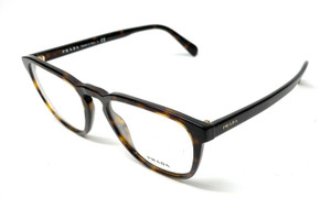 Prada VPR 09V 2AU-1O1 Havana Men Authentic Eyeglasses Frame 52-19-A8